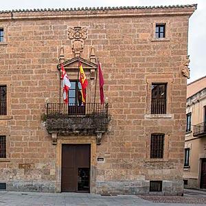 Palacio de Moctezuma o Casa de los Cornejo. Ciudad Rodrigo (Salamanca)