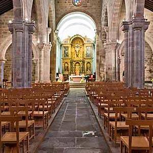 Catedral de Vila Real o Iglesia de Santo Domingo. Vila Real.